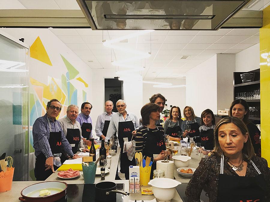 Curso de cocina Convite Madrid